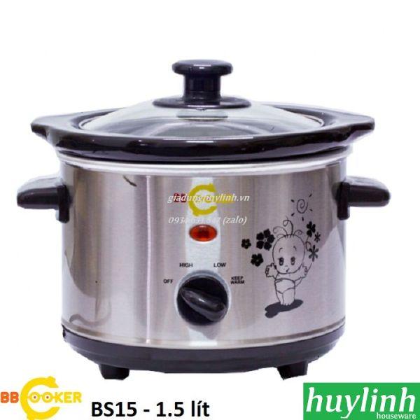Nồi nấu cháo chậm BBcooker BS15 - 1.5 lít