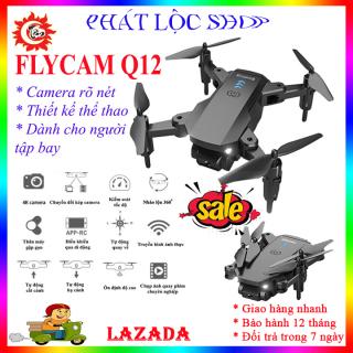 Flycam giá rẻ,Flycam mini,Flycam có camera,Máy bay điều khiển từ xa có camera,Flycam Drone Mini,Playcam giá rẻ,Play cam giá rẻ,Máy bay 4 cánh điều khiển từ xa Q12 sản phẩm 2021 thumbnail