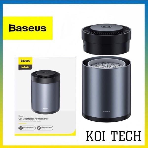 Bộ khuếch tán nước hoa khô oto baseus - Lọc không khí khử mùi dùng cho xe hơi ô tô- KOI TECH