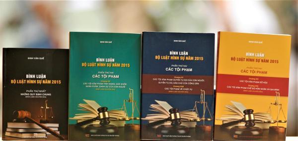 Mua Bộ 4 cuốn sách Bình luận bộ luật hình sự 2015