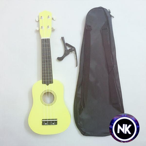 Miễn học phí khi mua đàn ukulele soprano tặng kèm bao vải đựng đàn + capo