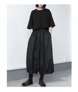 Áo Thun nữ form rộng tay lở croptop Unisex CERA-Y CRA023 vải thun co dãn nhe mặt mát thumbnail