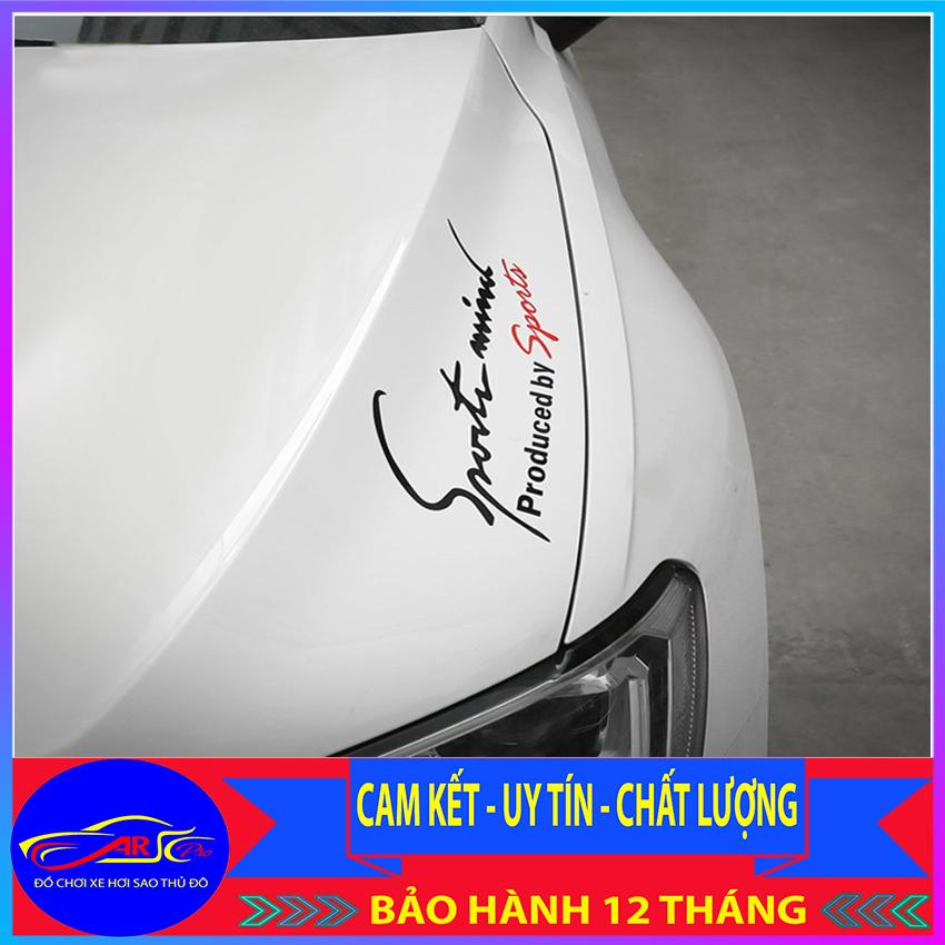 Ưu Đãi Giá cho Tem Dán Sport Mind To V6 Thể Thao Cho Xe Hơi