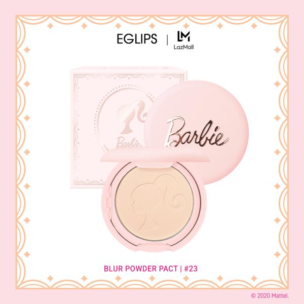 [Phiên bản giới hạn] Phấn phủ dạng nén Eglips Blur Powder Pact - Eglips x Barbie Limited Edition 9g cao cấp