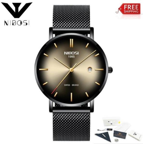 Đồng hồ Nibosi 2362 dây lưới phiên bản quốc tế (fullbox)