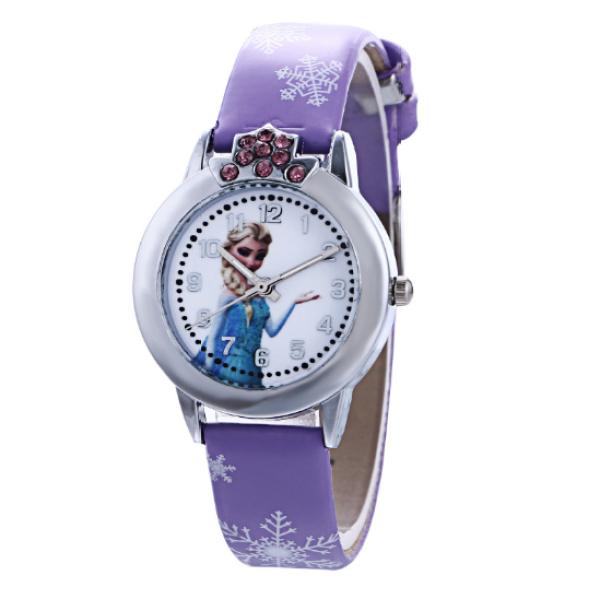 Nơi bán Đồng hồ Elsa & Anna cho bé gái  – DH002 Mặt đồng hồ 2cm Chiều dài đồng hồ 20cm