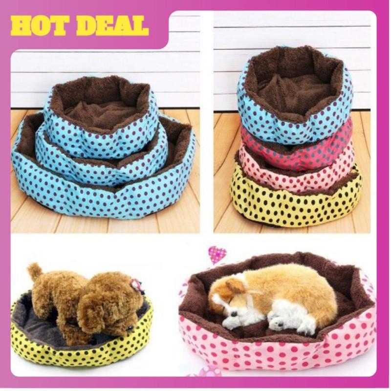 Đệm nằm êm ái - giữ ấm cho thú cưng-nhiều màu sắc- chất liệu êm ái.