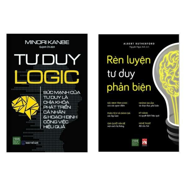 Combo 2 cuốn tư duy đáng đọc: Rèn Luyện Tư Duy Phản Biện + Tư Duy Logic