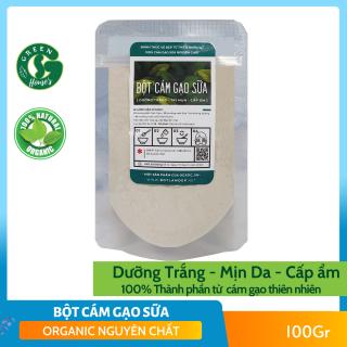 Bột cám gạo sữa nguyên chất Organic 100Gr- mỹ phẩm Handmade - B1.005 thumbnail