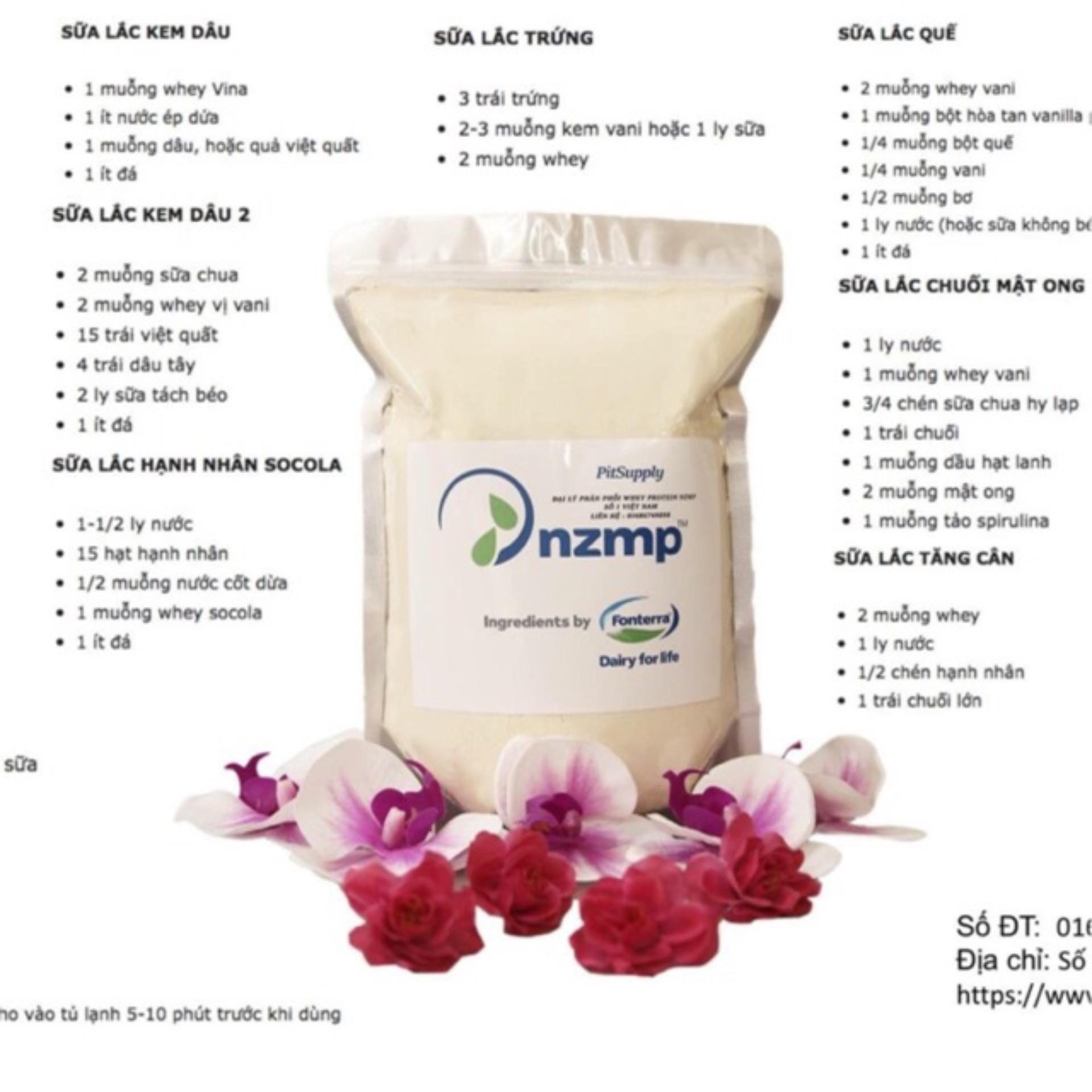 Whey Protein Concentrate 80% NZMP nhập khẩu