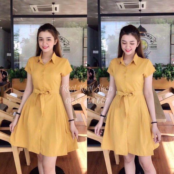 Đầm Sơ Mi Voan Lụa FashionLyLy