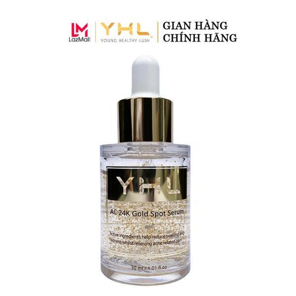 Serum Ngăn Ngừa Mụn Tinh Chất Vàng 24K - YHL AC 24k Gold Spot Serum 30ml tốt nhất