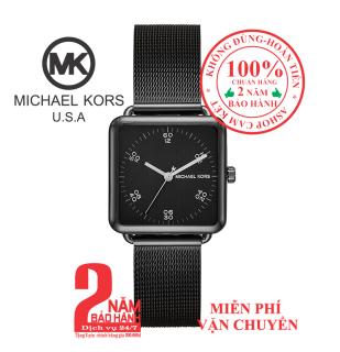 Đồng hồ nữ MK MK3562, vỏ, mặt và dây đồng hồ màu đen (Black), mặt vuông- size 31mm - MK3562 thumbnail