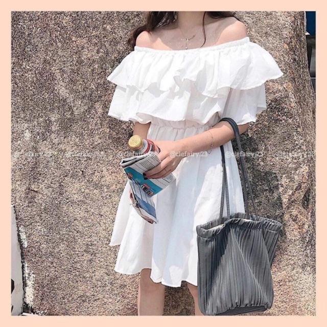 Đầm Trễ Vai, Đầm Maxi, Đầm Xòe Nữ Chất Liệu Voan Chiffon Cao Cấp Cùng Thiết Kế Ấn Tượng Giá Siêu Cạnh Tranh