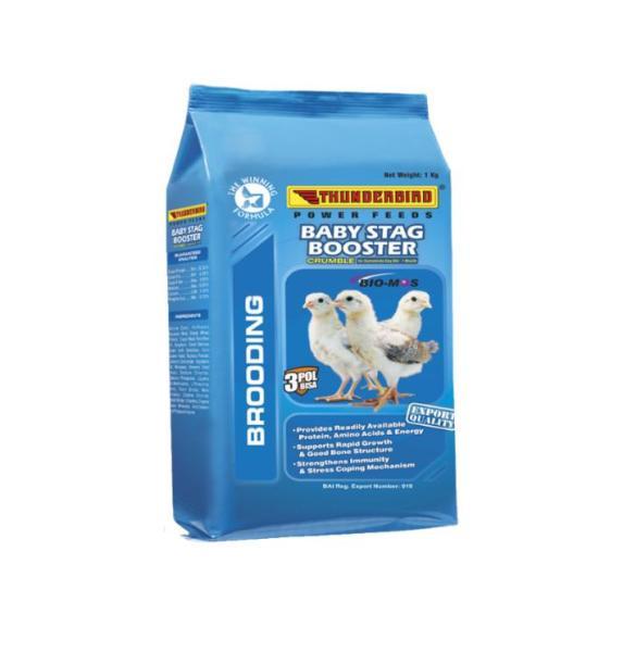Cám gà đá Baby Stag (1kg) - Pet Food Store.