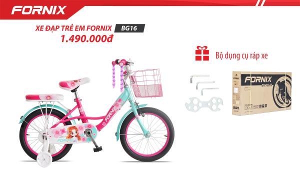 Mua Xe đạp trẻ em Fornix BG16 (Kèm bộ lắp ráp)- Bảo hành 12 tháng