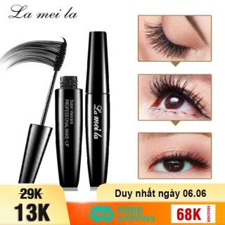 Mascara La Mei La giúp cong mi tự nhiên chuốt mi mascara lâu trôi mascara 4d JS-MS02 thumbnail