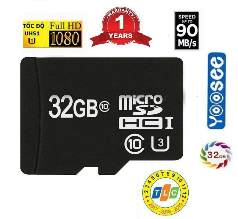 [ THẺ NHỚ 32G YOOSEE tốc độ Ultral ] Thẻ nhớ Micro 32G chuyên dụng cho các dòng Camera IP Yossee , Xiaomi , OPPO , Samsung Hay các dòng điện thoại Android