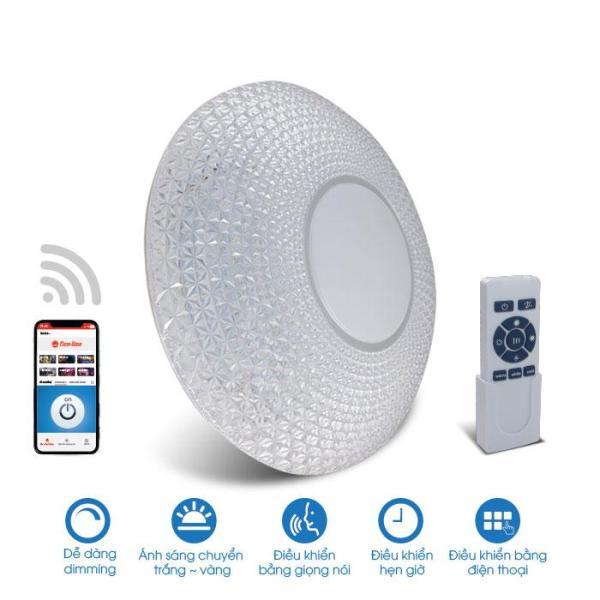 [RẠNG ĐÔNG] Đèn LED Ốp trần thông minh DIM + CCT + Wifi - D LN18 500/48W.WF