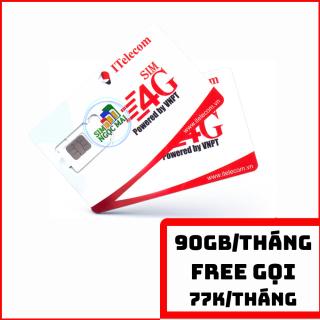 SIM 4G Vinaphone Indo -Telecom gói MAY tặng 90GB DATA Chỉ 77K Tháng thumbnail
