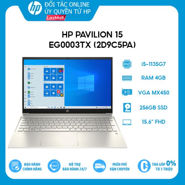 Bảng giá [VOUCHER 3 TRIỆU] Laptop HP Pavilion 15-eg0003TX (2D9C5PA) (i5-1135G7 | 4GB | 256GB | VGA MX450 2GB | 15.6 FHD | Win 10 + Office) Phong Vũ