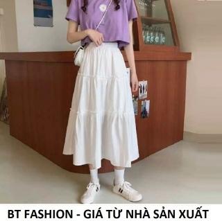 Chân Váy Dài Voan Thời Trang Hot - BT Fashion (3T) SE04- Có lót bên trong - Mua thêm Áo bên dưới để phối theo bộ thumbnail