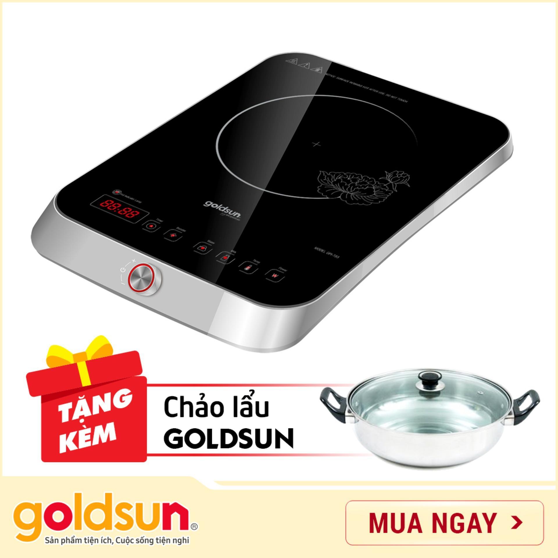 Bếp điện Từ Goldsun Premium GPI-T83 Bảo Hành 2 Năm Với Giá Sốc