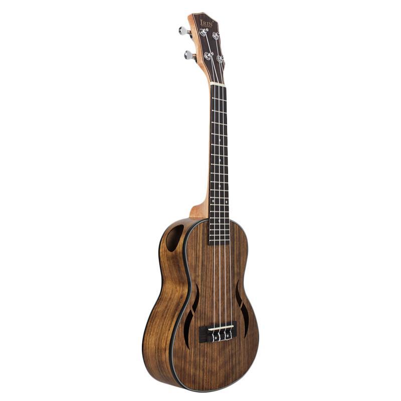 IRIN Concert Ukulele 23 Inch Walnut Wood 18 Fret Acoustic Guitar Ukelele Mahogany Fingerboard Neck Hawaii 4 String Guitarra Có Giá Tốt