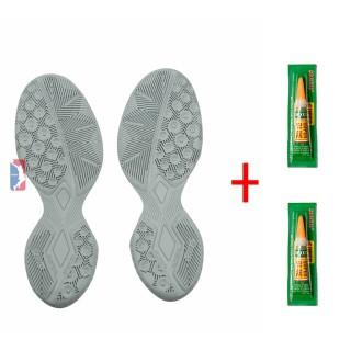 Đế giày bóng rổ, cầu lông - Tặng kèm 2 lọ keo (Giáp đế giày - chuyên cày sân outdoor) thumbnail