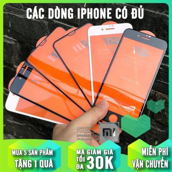 Giá [MUA 1 TẶNG 1] Kính cường lực 11D cho iPhone6-7-8 / 6-7-8 Plus / X-Xs / Xs Max / iPhone 11 / iPhone 11 Pro / iPhone 11 Pro Max Full viền Đen MIETUBL