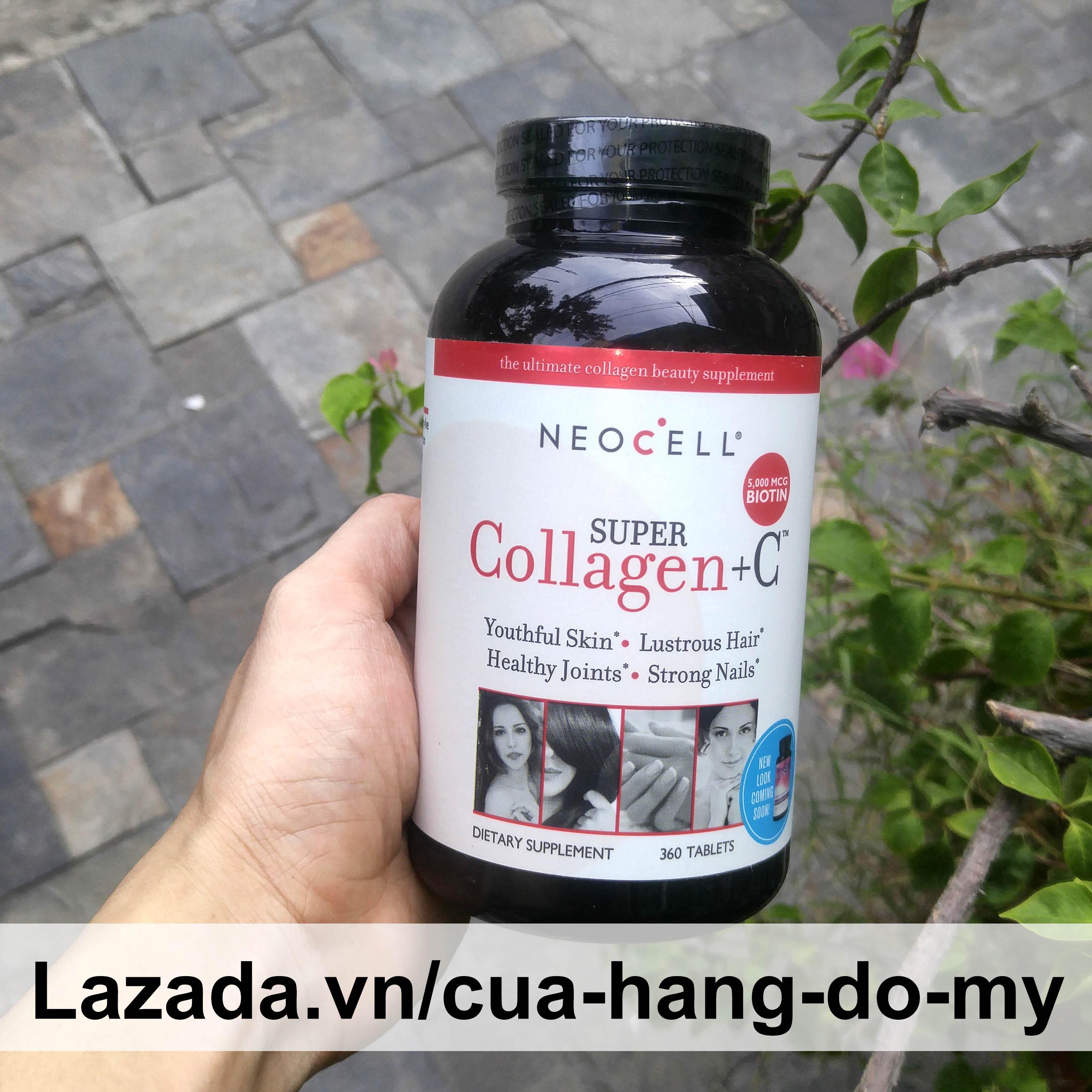 Viên uống NeoCell Super Collagen +C Type 1, 3 360 Viên (Mỹ) - Giúp da hồng hào, chống lão hóa