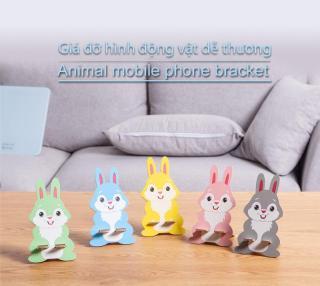 Giá đỡ điện thoại hình động vật dễ thương chất liệu ván ép chất lượng tạo hình cực dễ thương cực bền bỉ nhiều loại hình để lựa chọn thumbnail