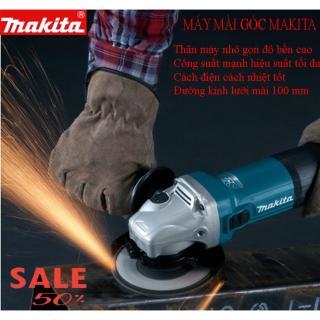 ( GIÁ GỐC) Máy mài góc cạnh, máy mài cắt Makita 9556 - 100% đồng, Máy mài sắt, tường, gỗ, máy mài thông minh đa năng công suất mạnh mẽ (Tặng 1 Đĩa Mài ) thumbnail