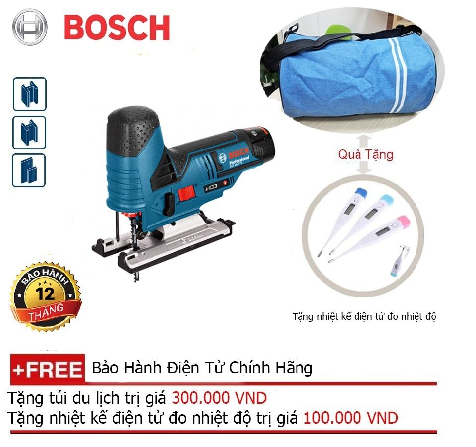 Máy cưa lọng dùng pin Bosch GST 12V-LI (Solo) + Quà tặng balo du lịch