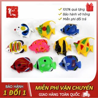 Combo 3 cá giả mô hình cá giả trang trí bể cá, phụ kiện thiết bị bể cá thumbnail