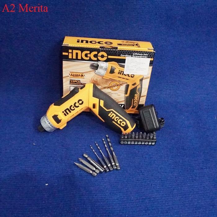 8V Máy siết vít dùng pin Li-ion INGCO CSDLI0801