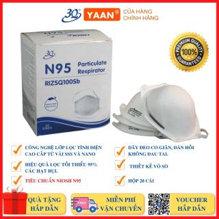 Khẩu Trang bảo vệ hô hấp N95 SANQI 3Q Tiêu chuẩn N95 - Chống bụi mịn, Chống dịch - Yaansafety thumbnail