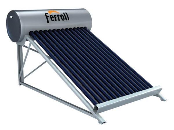 Bảng giá Bình nước nóng năng lượng mặt trời Ferroli, dạng ống, 160L, 12 ống