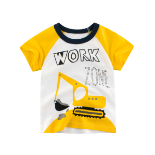 [ VIDEO] E415 Áo thun bé trai 27KIDS chất liệu 100% cotton in hình WORKZONE cho bé từ 10-33kg (2 tuổi -10 tuổi ) an toàn mềm mịn thích hợp cho bé đi học đi chơi thumbnail