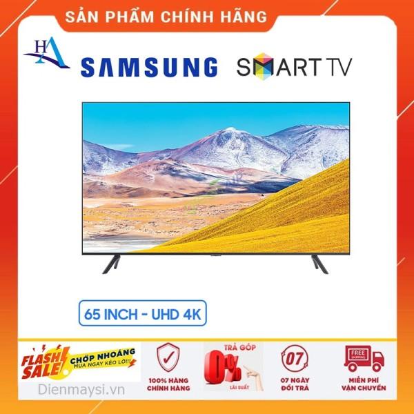 [HCM]Smart Tivi Samsung 4K 65 inch UA65TU8100 (Miễn phí giao tại HCM-ngoài tỉnh liên hệ shop) chính hãng