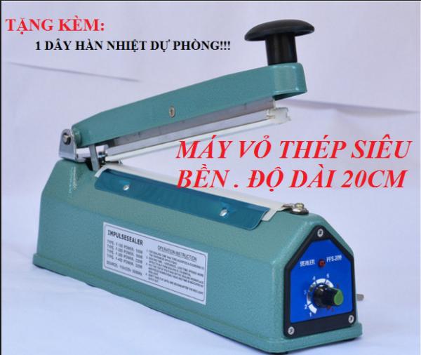 Máy ép miệng túi PFS200 vỏ sắt - tặng dây nhiệt dự phòng