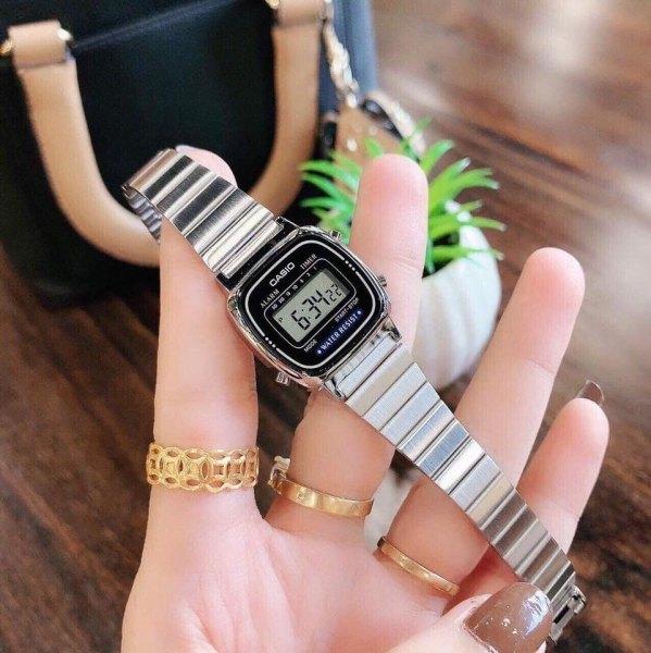 Đồng hồ nữ Casio La670 size mini , xinh xắn , nhỏ nhắn , sang chảnh- King 88 STORE bán chạy
