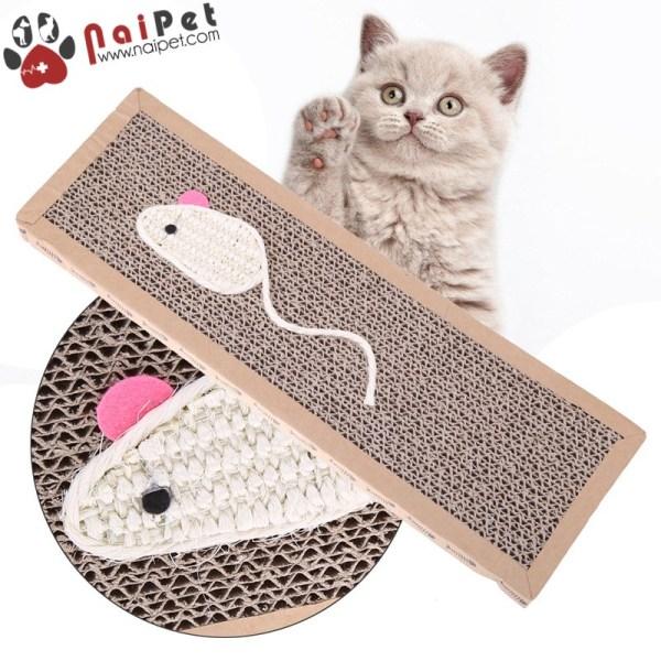 Đồ Chơi Bàn Cào Móng Bằng Carton Cho Mèo BCM007