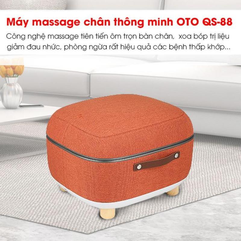 Máy massage chân QSeat OTO QS-88 (màu Cam) cao cấp