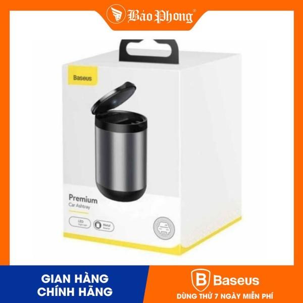 Gạt tàn BASEUS Premium Car Ashtray Black - CRYHG01-01