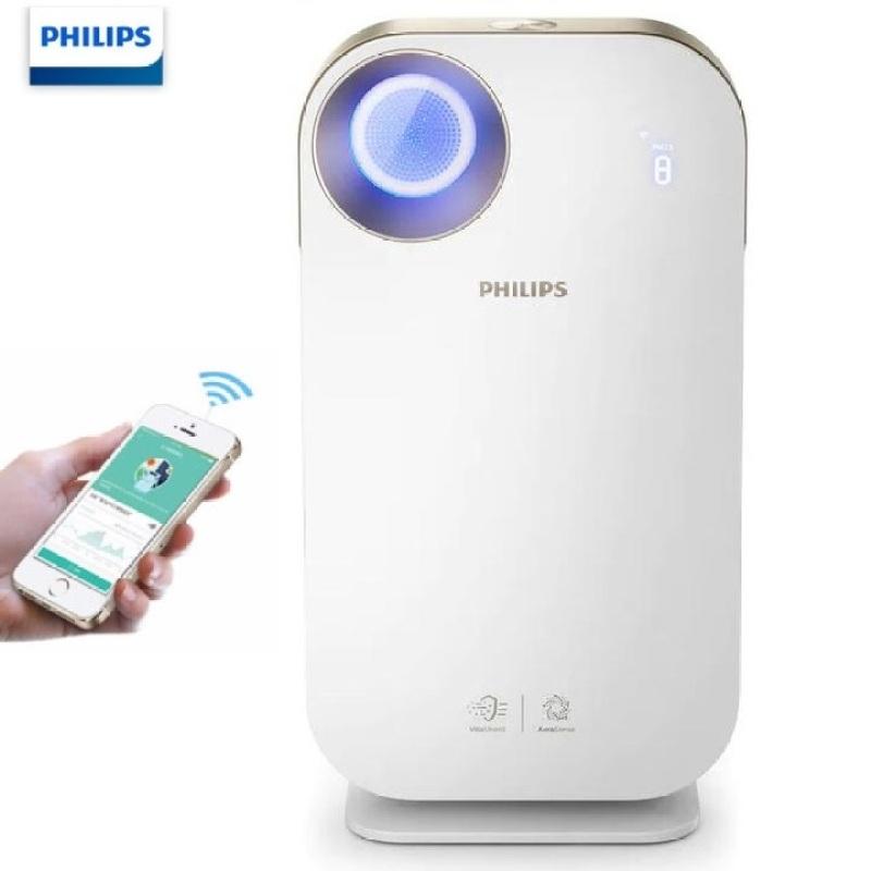 Máy lọc không khí trong nhà kháng khuẩn nhãn hiệu Philips AC4558/00 tích hợp Wifi, cảm biến chất lượng không khí 4 màu