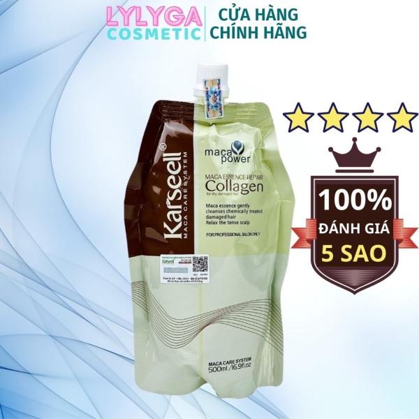 2 túi ủ tóc Collagen 500ml Siêu Mượt Phục Hồi Tóc Hư Tổn, Cấp Ẩm, Dưỡng Tóc Mềm Mượt