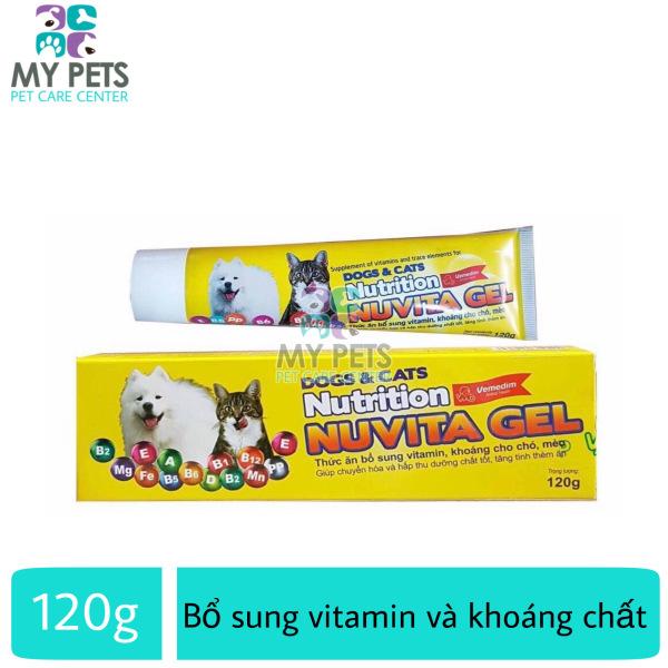 NUVITA gel Thức ăn bổ sung vitamin, khoáng cho chó, mèo - typ 120g