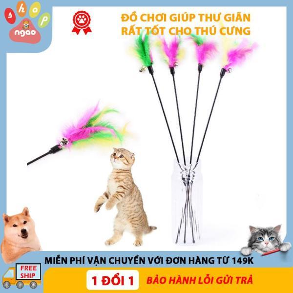 Đồ chơi lông vũ cho mèo, đồ chơi thú cưng, đồ chơi cho chó mèo ( Lông vũ)
