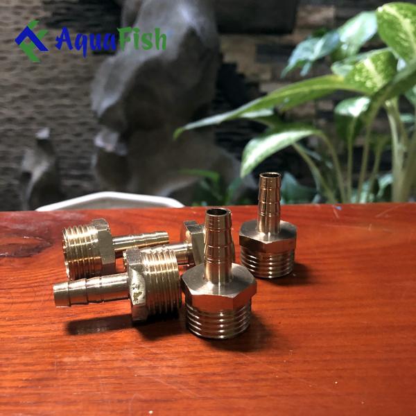Đầu Đồng Đổi Phi Cho Dây Sủi 6-8mm (Dùng cho bể cá)